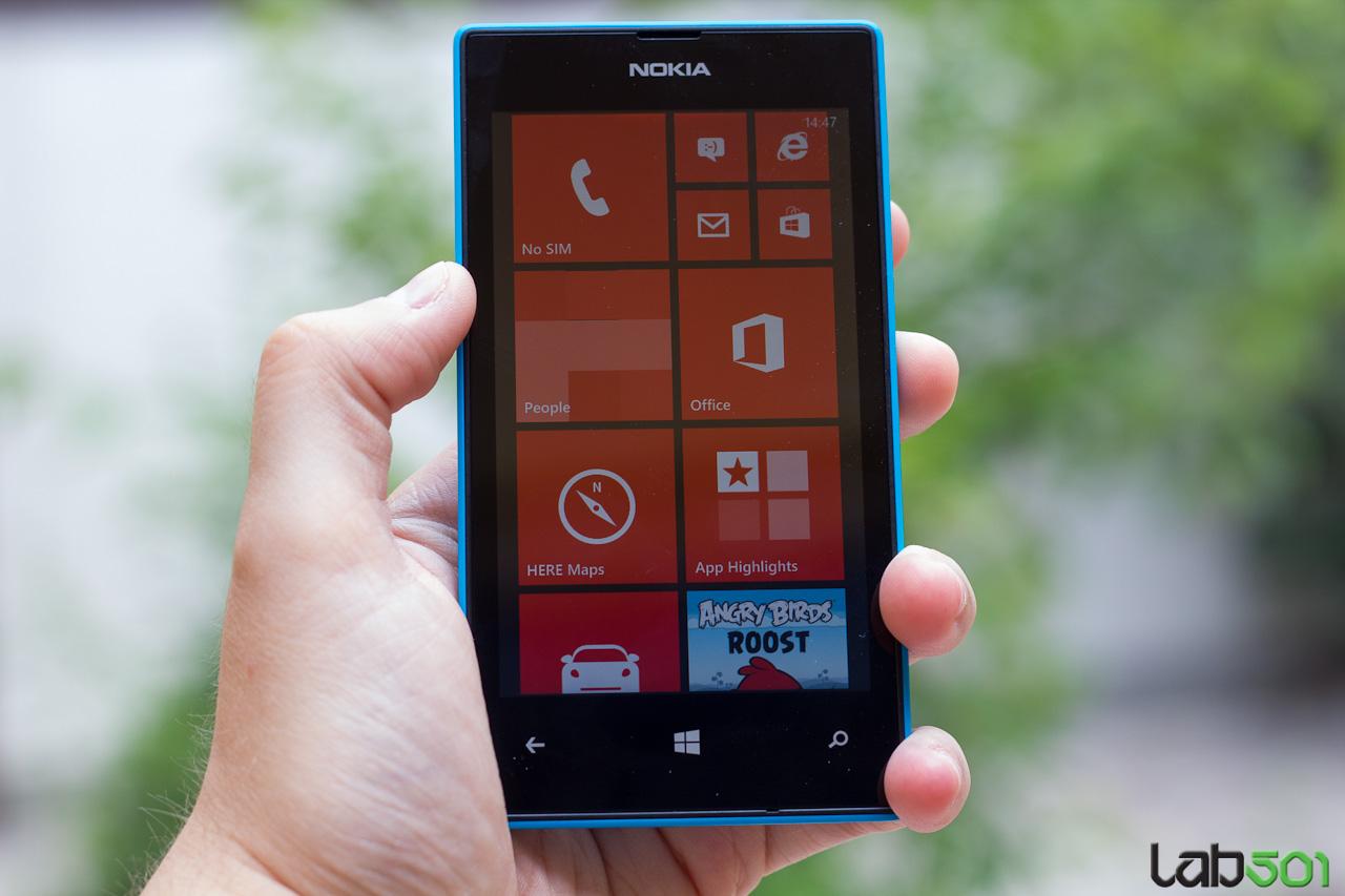 how to open nokia lumia 520