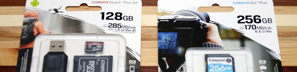Review – Kingston Canvas React Plus Kit 128GB & Kingston Canvas G…